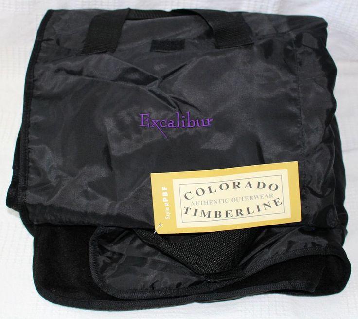 "Excalibur Casino Fleece Picnic Blanket from Colorado Timberline Large 50"" X 60""  #ColoradoTimberline"