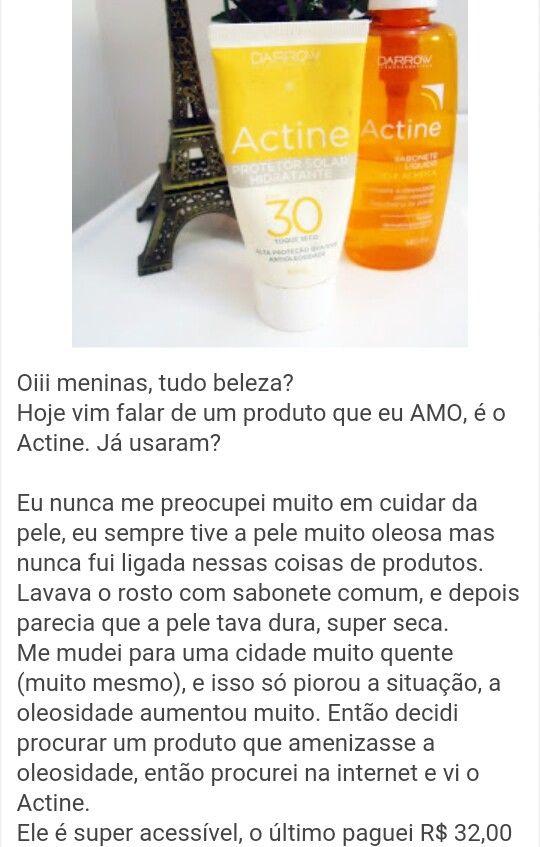 Um ótimo produto para pele oleosa e para acne