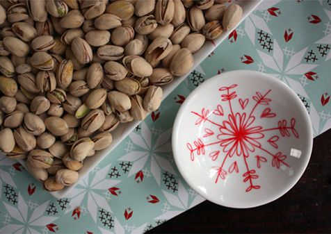 DIY Personalized Christmas Crockery to display or Give!! All you need is an oven proof dish, a porcelain paint pen and your oven!