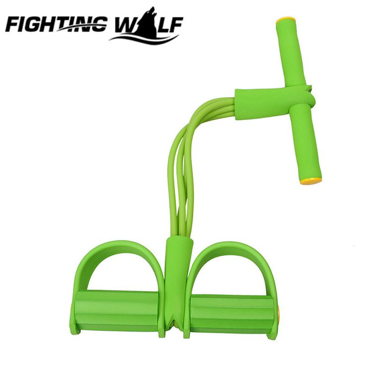 4 Tube Strong Resistance Training Band