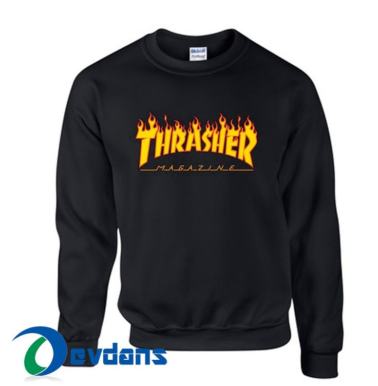 Tag a friend who would love this!     $23.99    Get it here ---> https://www.devdans.com/product/thrasher-magazine-sweatshirt-unisex-adult-size-s-3xl/
