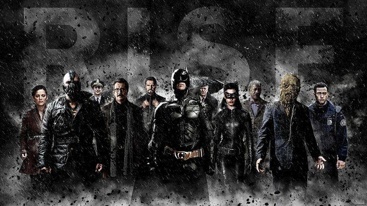dark, Police, Rain, Catsuits, Glasses, Batman, Bane, Scarecrow (character), Jim Gordon, People, The Dark Knight Rises, MessenjahMatt, Catwoman, Selina Kyle, Alfred Wallpaper
