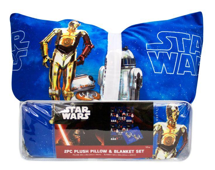 Star Wars Episode 7 Pillow & Blanket Set