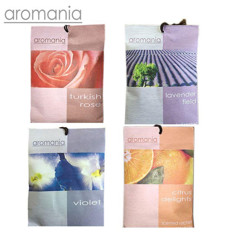 Aromania Fresh Rose Lavender Scented Sachet Fragrance Drawer Sachets Bag For Bedroom Car Flavor Fragrances Indian Free Shipping