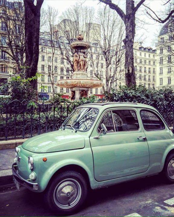 #Fiat500 #ontheroadagain