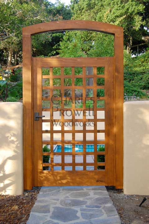 Garden Gate Ideas find this pin and more on for the home garden gate Gate Arbor From Prowell Woodworks