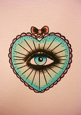 cool eye tattoo idea