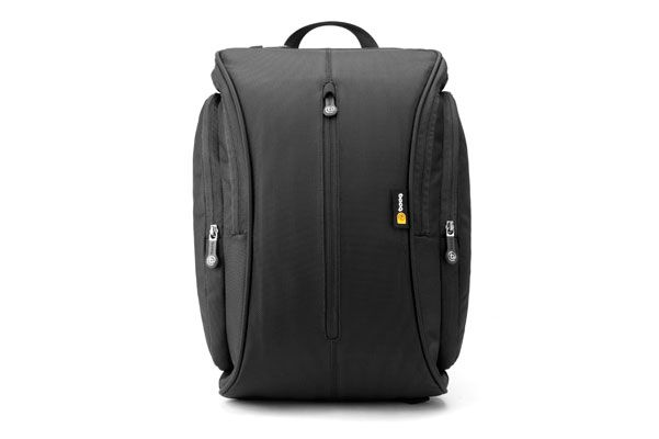 Boa squeeze, graphite | Slim laptop backpacks by booq