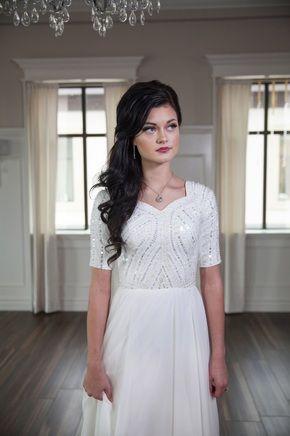 Elizabeth Cooper Design Modest Wedding DressesSleeve DressesWedding