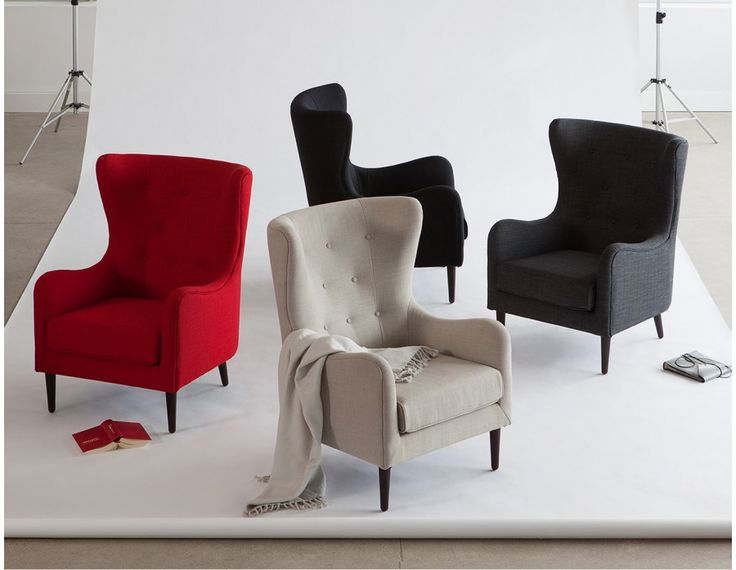 POLO - Armchair - Red