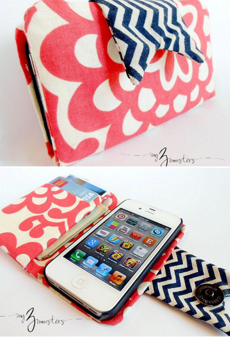 Homemade iPhone Wallet