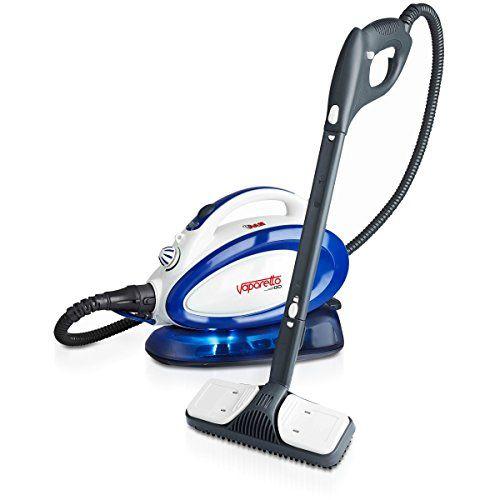 Polti VAPORETTO GO – Generador de vapor para limpieza (Presión max 3,5 bar, vapor 90g/min, capacidad 0,75l) color azul y blanco   Hogarycocina.es