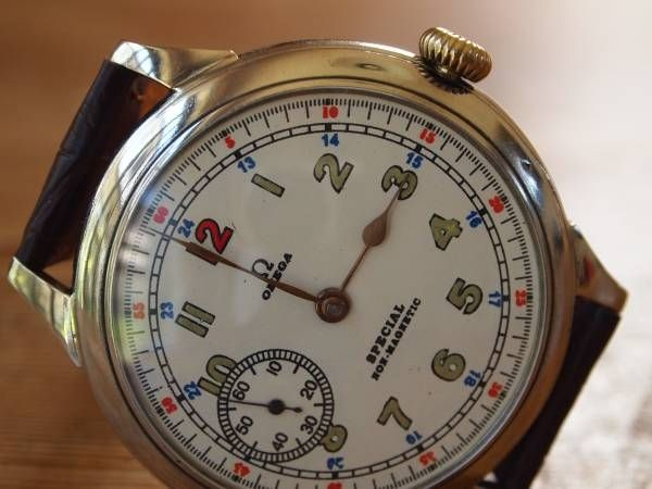 Omega 1円 アンティークオメガOMEGA 1916Military iwcrolex 時計 Watch Antique ¥50000yen 〆07月07日