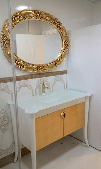 Beautiful Pearl Bathroom Furniture Set By Fatih Mintas