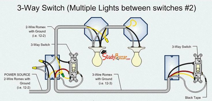 Wiring Diagram For Two Way Switch