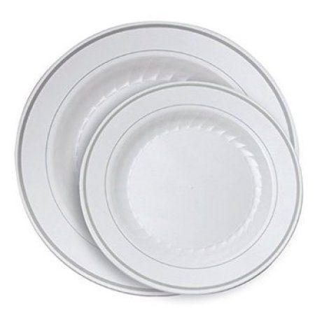 Mainstays U.s. Acrylic Plastic Plates  sc 1 st  Pinterest & 40 best Plastic Plates images on Pinterest | Plastic plates Dinner ...