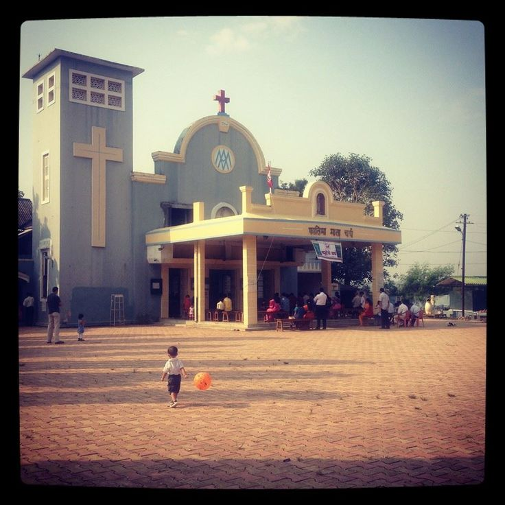 Fatima Mata Church, Chulne, Vasai West. Sunday Click Courtesy: Facebook page/ chulne.com