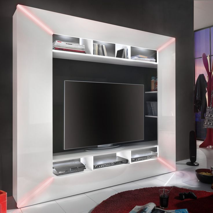 die besten 25 tv wand hochglanz ideen auf pinterest wohnwand hochglanz schwebendes tv ger t. Black Bedroom Furniture Sets. Home Design Ideas