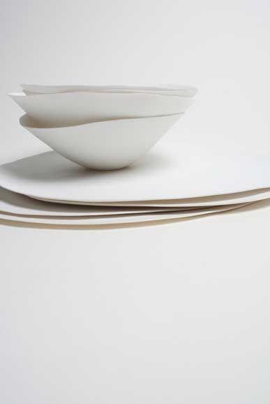 caroline swift - bone china plate