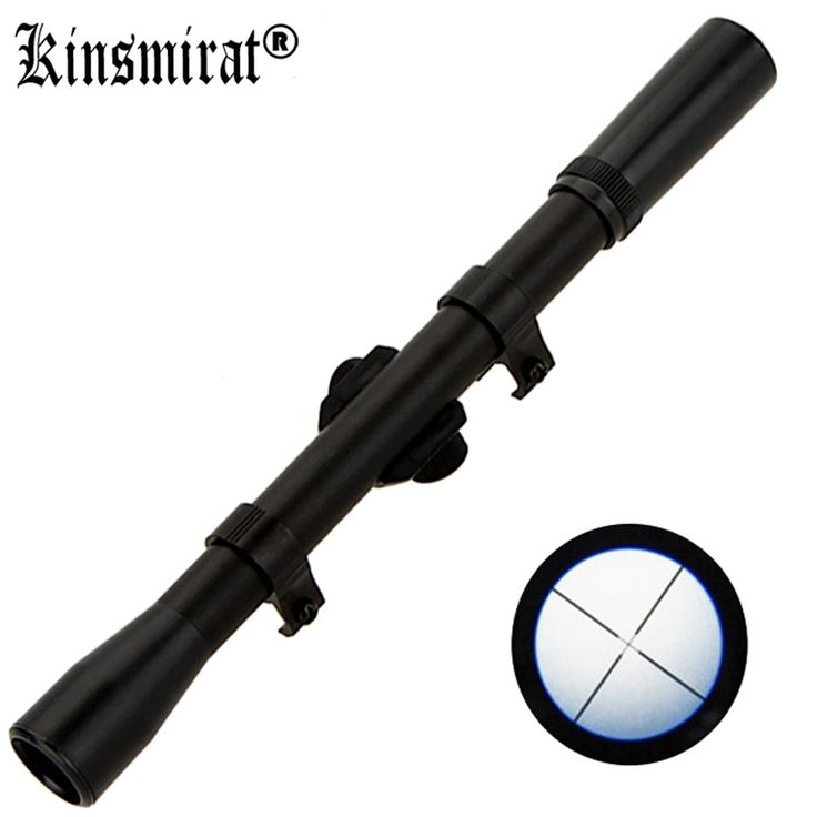 Luneta Para Rifle Scope 4X20 Rifles Sights Air Rifle Telescopic Hunting front Sight Mounts Scopes Riflescope