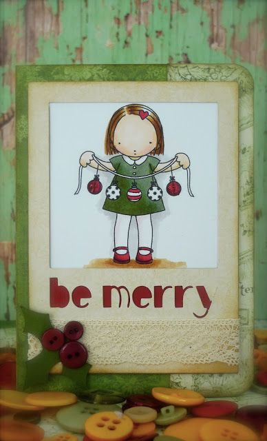 Synnøves Papirverksted: Be merry!