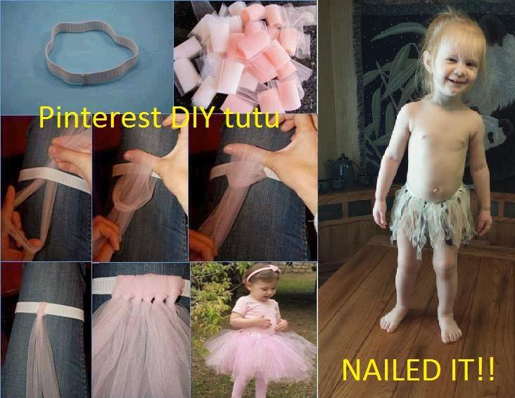 Diy Tutu Found On Pintrest Nailed It Crafts Diy