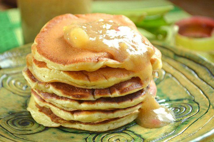 pancakes z frużeliną