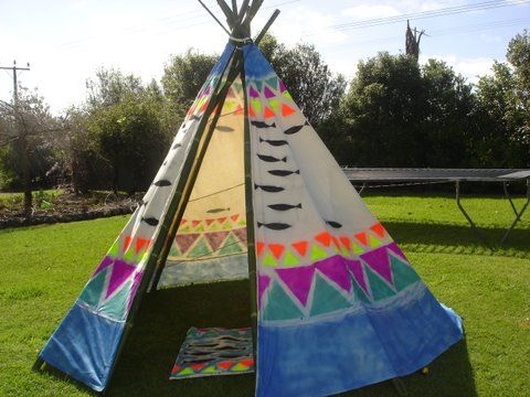 how to make a real teepee