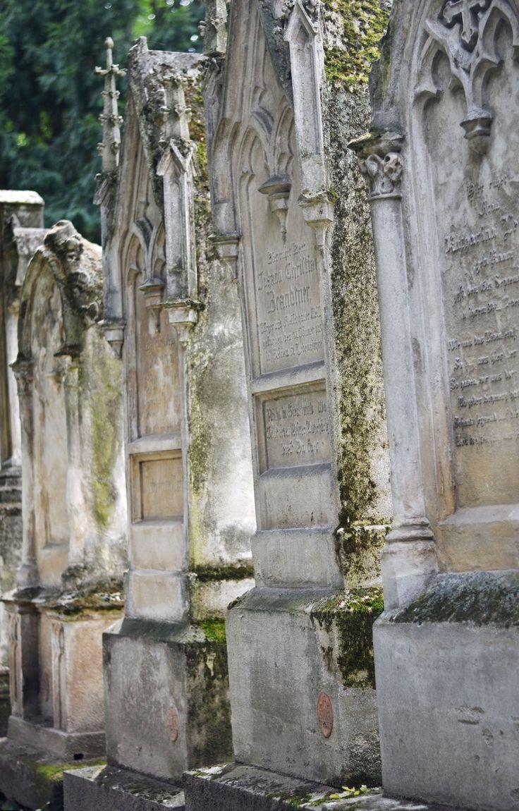 Old cemetery in Bratislava.