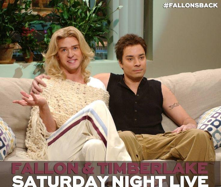 Justin Timberlake and Jimmy Fallon on SNL