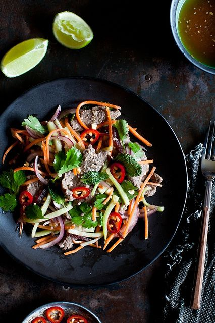 Thai Beef Salad by tartelette, via Flickr