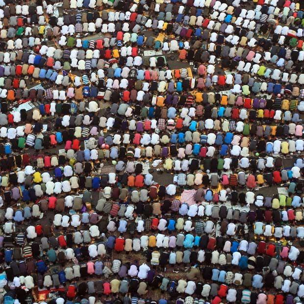 Eid Mubarak. Prayer.
