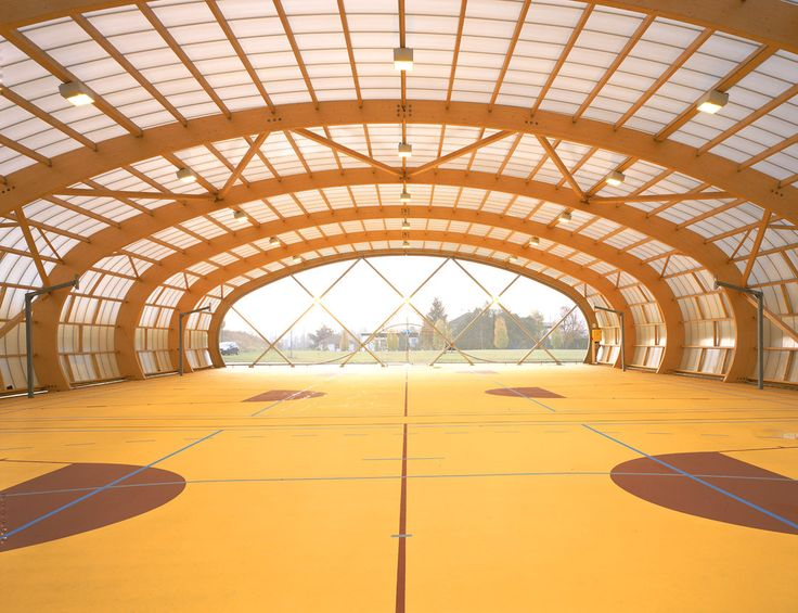 Gallery of Sport Court in Sarcelles / ECDM - 4