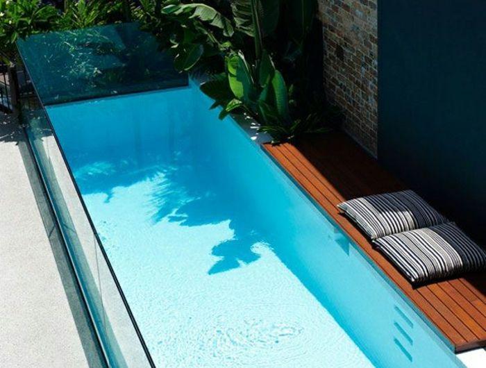 25 great ideas about piscine en bois rectangulaire on for Piscine hors sol fibre de verre
