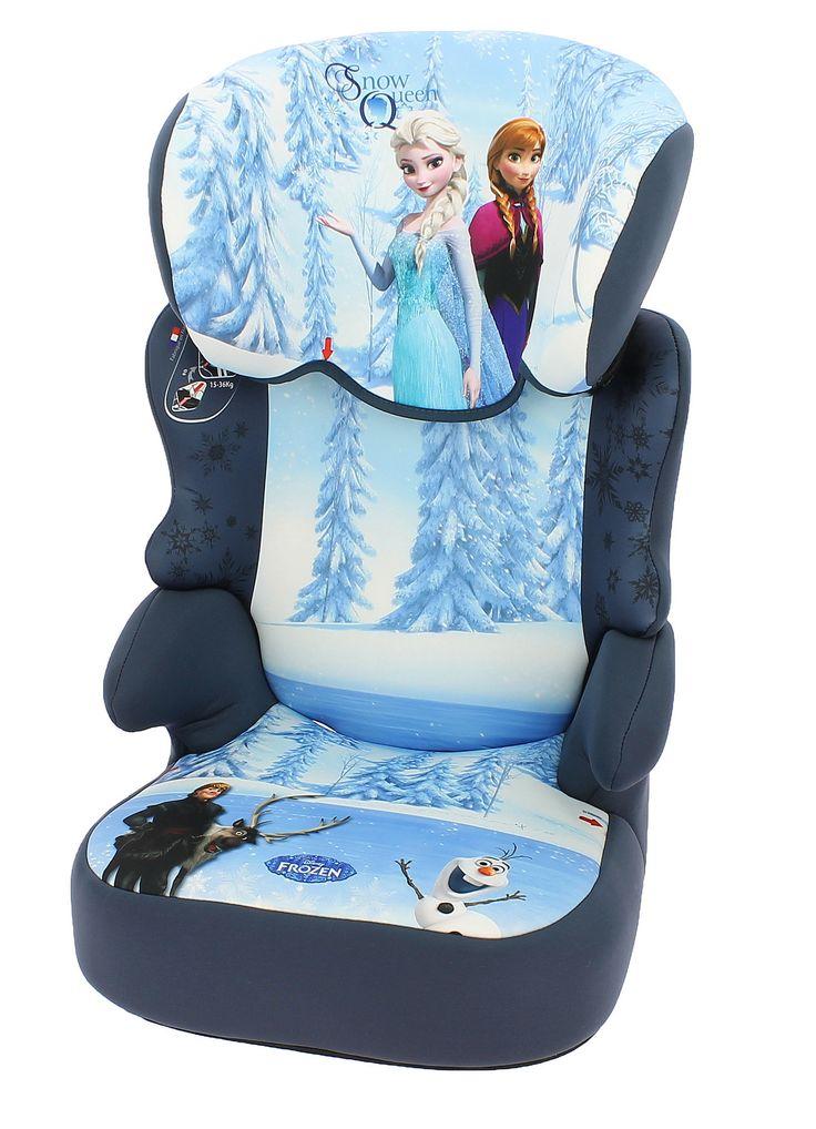 Disney Autostoel Befix Frozen Snow Queen  Description: Vervoer je kinderen veilig met dit mooie Befix Frozen Snow Queen kinderzitje. Dit Frozen zitje is een autostoel uit groep 2/3 en is geschikt voor kinderen in de leeftijd van 4 tot 12 jaar (15 tot 36 kilogram). De Befix Frozen stoel is eenvoudig te installeren door de duidelijke gordelroute en past in alle auto?s die standaard zijn uitgerust met een 3-puntsgordel. De hoofdsteun is in hoogte verstelbaar zodat je het kan aanpassen aan de…