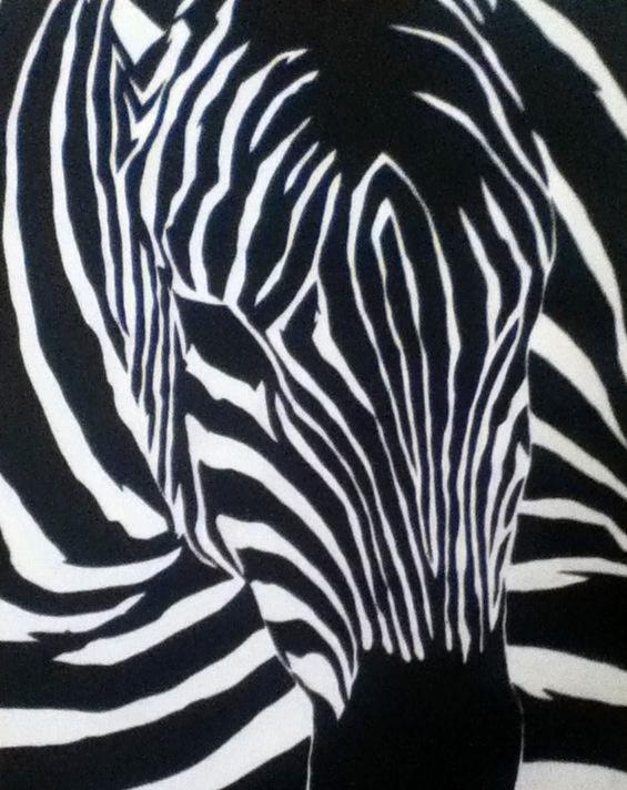 Larry's Zebra - Heather Hancock