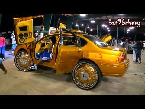 "Candy GOLD 2005 Impala on 30"" DUB Fouty Floaters - 1080p HD - YouTube"