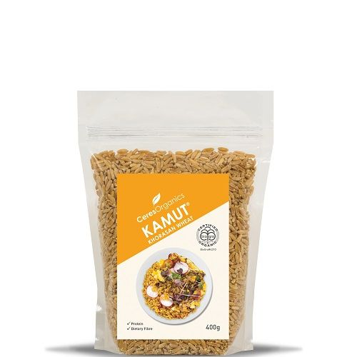 At Ceres Organics we like our food wholesome and pure. So our KAMUT Khorasan Wheat is just that! Straight up goodness. What makes this centuries-old wholegrain unique from other wheat varieties is that it hasn't been altered through modern plant breeding. It's guaranteed under the KAMUT brand to always be grown according to certified organic …