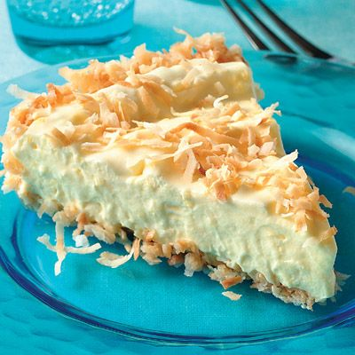 Easy Coconut Mousse Dessert Recipe from Land O'Lakes