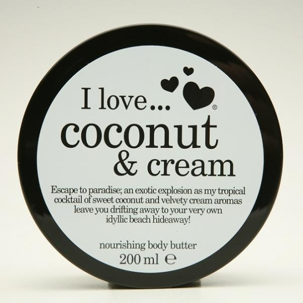 Coconut & Cream Nourishing Body Butter - http://www.carlisa.ro/245~Ingrijire-Corp/1364-Coconut---Cream-Nourishing-Body-Butter.html
