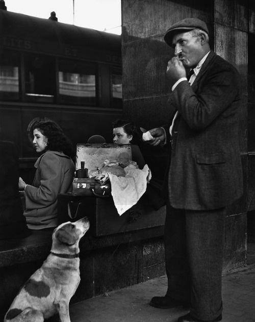 Termini Station Rome 1950 Photo: Herbert List