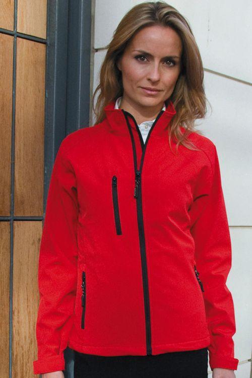 Jachetă softshell de damă Base Layer Result din 2 straturi, 93% poliester și 7% spandex #softshell #personalizate #brodate #dame