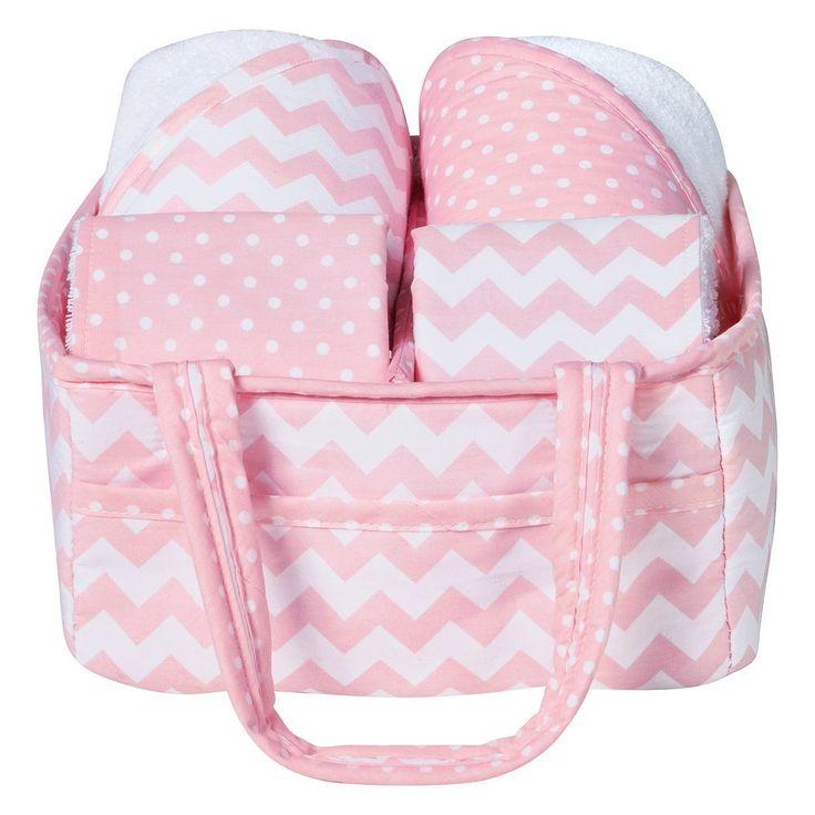 Trend Lab 5-Pc. Baby Bath Gift Set, Light Pink