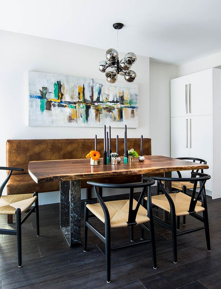 Raw natural goodness 50 live edge dining tables that wow