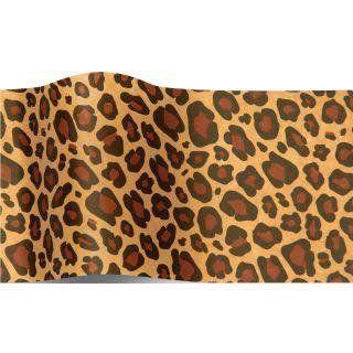 Luxusní hedvábný papír -  leopard potisk  17,5g