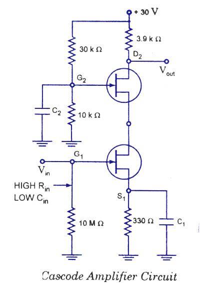 Cascode Amplifier Circuit Ece In 2019 Electronics