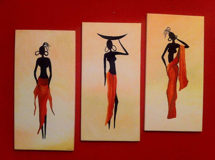 moldes de negras africanas para pintar - Cerca con Google