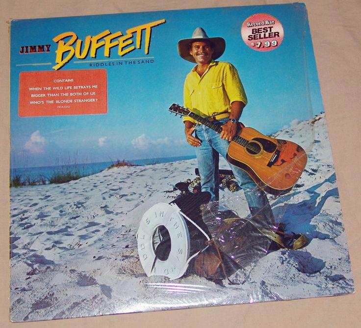 "Jimmy Buffett Riddles In The Garden 12"" Vinyl Record Album MCA-5512 NM 1984"