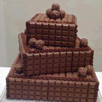 Willkommen zum Schokoladen- Turm von Nougat- Land!