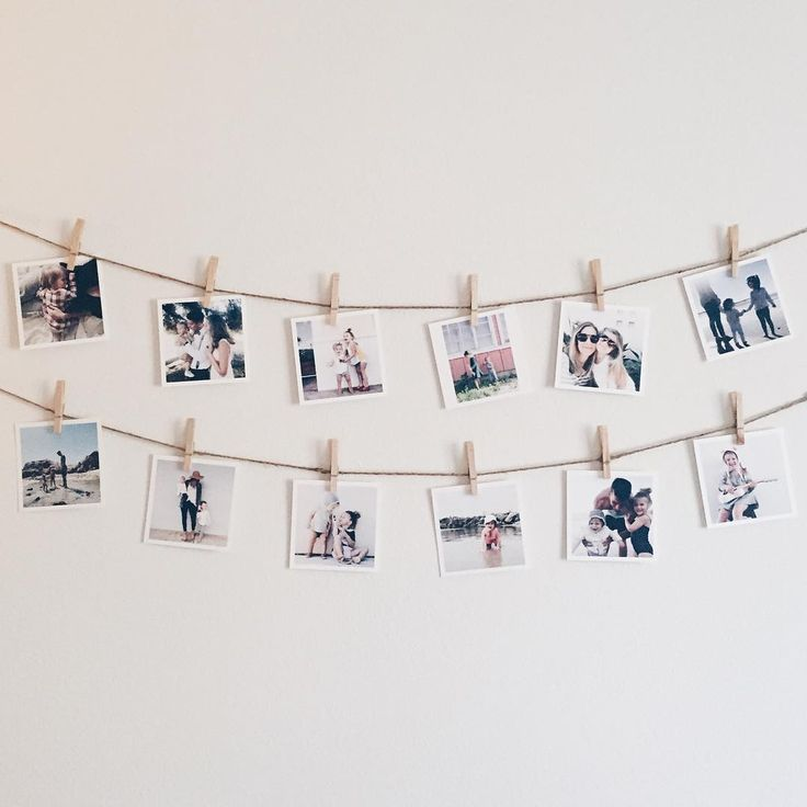 Photo decor ideas square prints prints square prints are cute and easy to